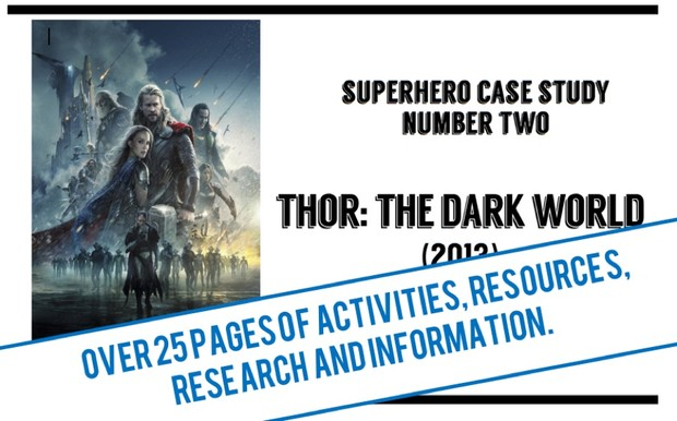 Thor: The Dark World - A Workbook / Case Study / Revision guide for GCSE Film Studies Paper 1