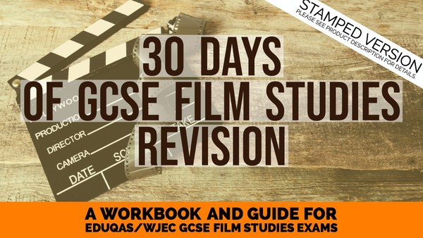 30 Days of film revision compiled booklet