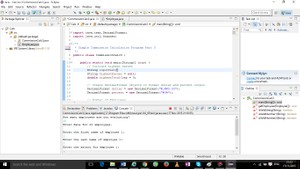Modified  Week Three Java Application