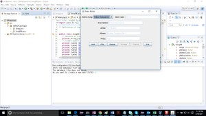 Java program that builds and manages a database of songs Solution