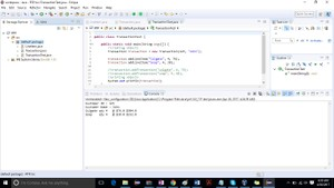 Retail Transaction Programming Project Solution