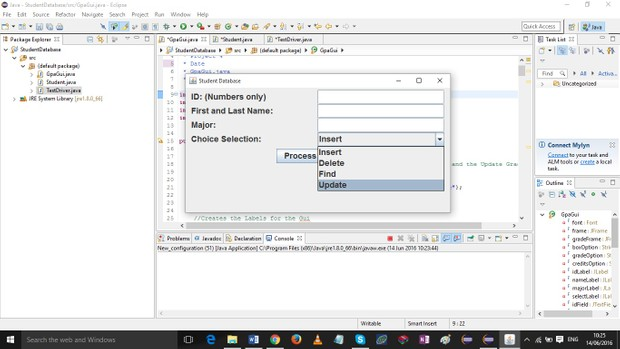 Project 4 Manage Student Database