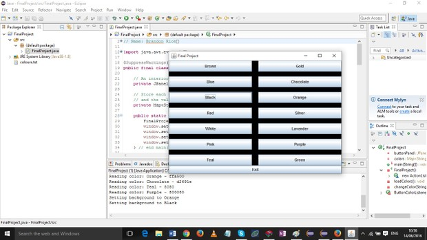 Final Project - Java Collections