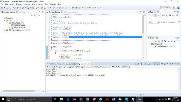 Program2a and b  - Solution