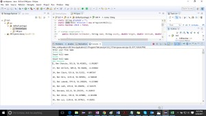 Create a class Hill that represents the data for one hill as in file hills.csv. Solution