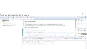 Odd Number Sum Loop in Java