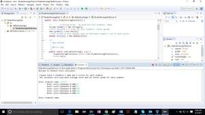StudentAverageTestScore Solution