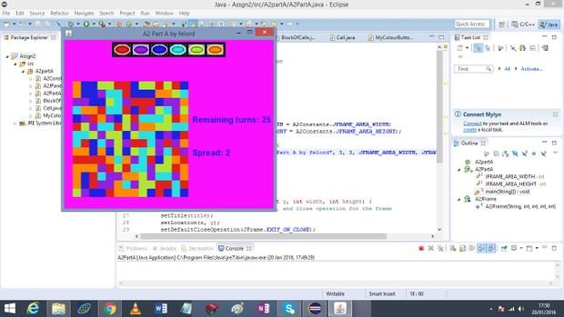 Part A The ColourMe Game