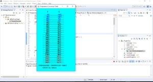 COP 2800 (Java Programming) Project #2 Temperature Conversion Chart Solution
