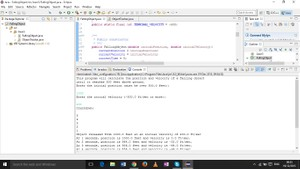 Program to calculate the position and velocity of a falling object