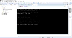 C++  program  to assess individual student grades