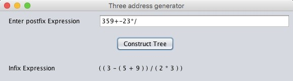 Project 2 program that accepts an arithmetic expression   Solution