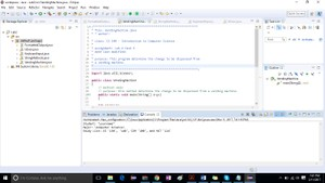 Introduction to Computer Science Lab #2 Solution