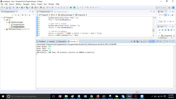 Program2a and b Solution