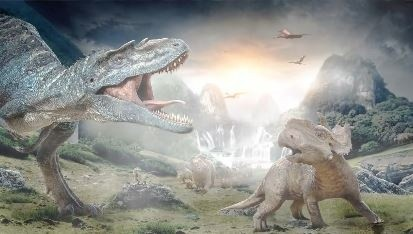 Animated Jurassic World
