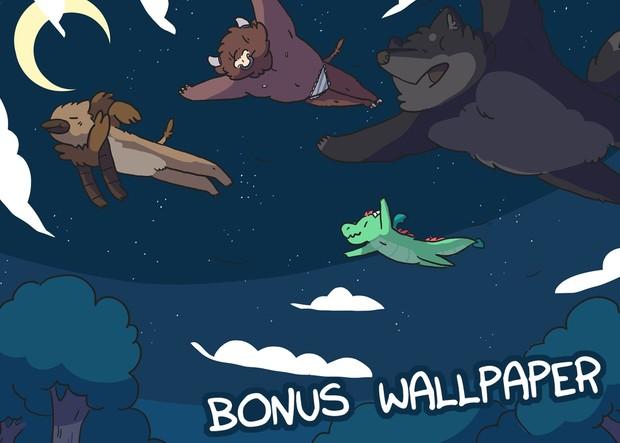 Mythical Adventures Vol.1 PDF & Wallpaper Bundle