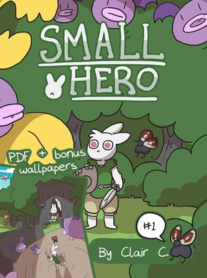 Small Hero #1 PDF & Wallpaper Bundle