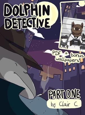 Dolphin Detective Part 1 PDF & Wallpaper Bundle