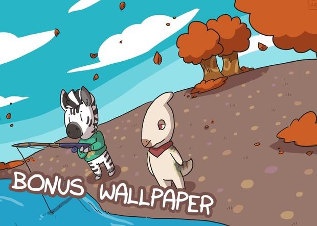 Zebra Crossing #2 PDF & Wallpaper Bundle