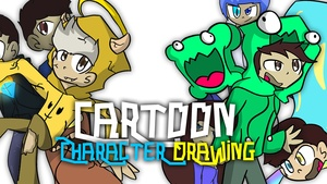CARTOON CHARACTER DRAWING! (SHOP IS CLOSED! DONT BUY)