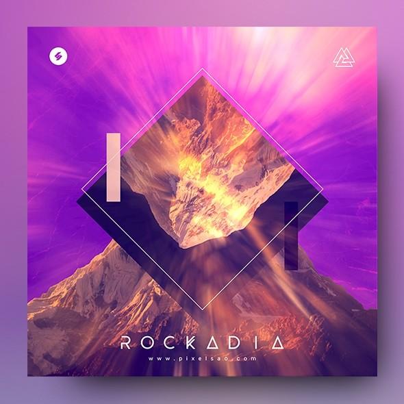 Rockadia – Music Album Cover Template