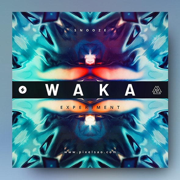 Waka – Music Album Cover Artwork Template