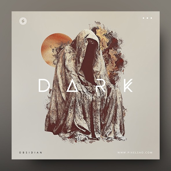 Dark – Album Cover Artwork Template