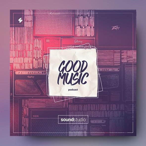 Good Music – Album Cover Artwork Template