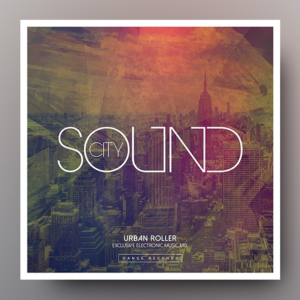 City Sound – Music Album Cover Artwork Template