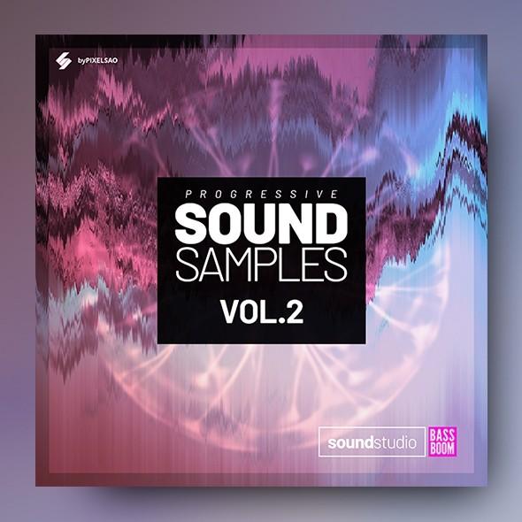 Progressive Sound Samples vol.2 - Album Cover Artwork Template