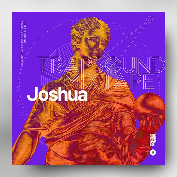 Trap Sound Mixtape – Album Cover Artwork Template