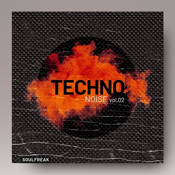 Techno Noise vol.2 – Music Album Cover Template
