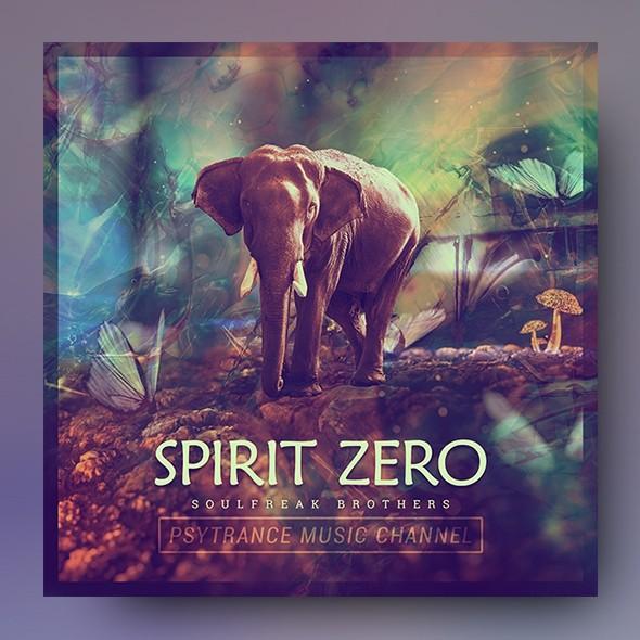 Spirit Zero - Music Album Cover Artwork Template