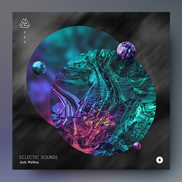 Eclectic Sounds - Music Album Cover Artwork Template