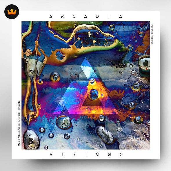 Visions – Music Album Cover Artwork (Exclusive license)