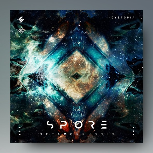 Spore – Electronic Music Album Cover Artwork Template