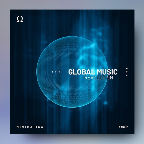 Global Music Revolution – Album Cover Template
