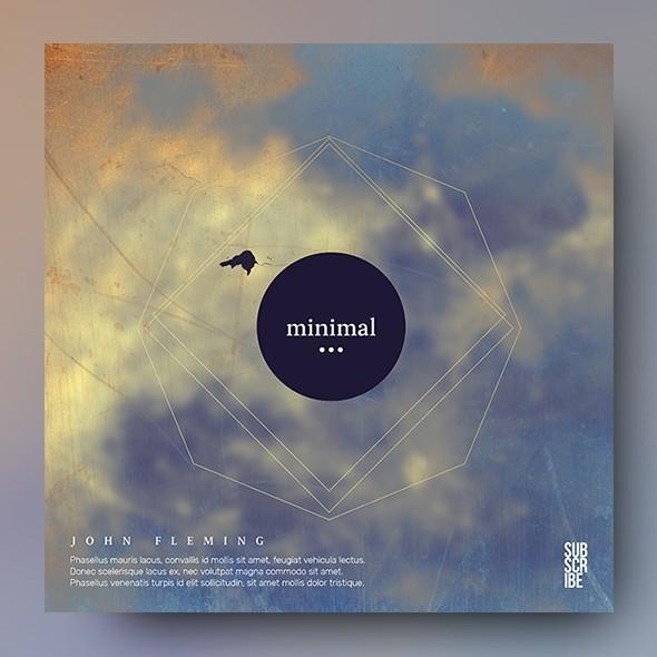 Minimal vol.2 - Music Album Cover Artwork Template