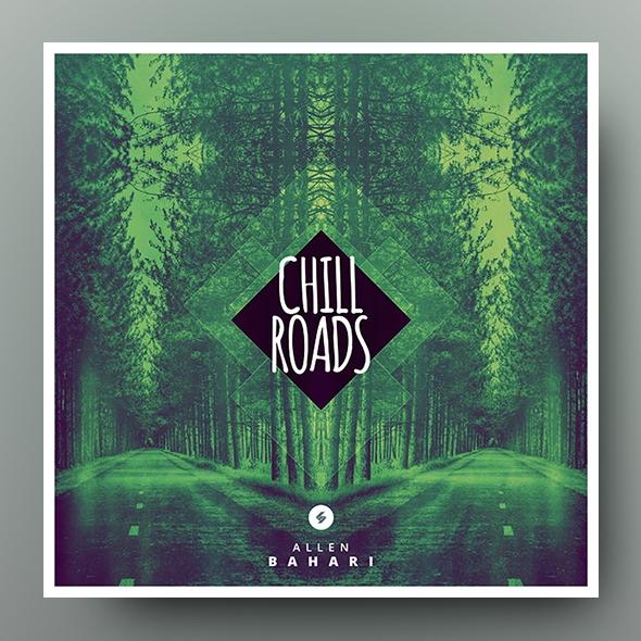 Chill Roads - Music Album Cover Artwork Template