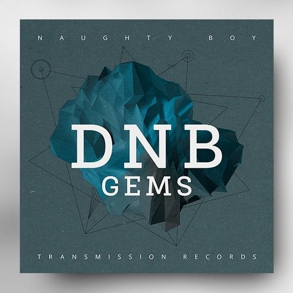 DNB Gems – Music Album Cover Psd Template