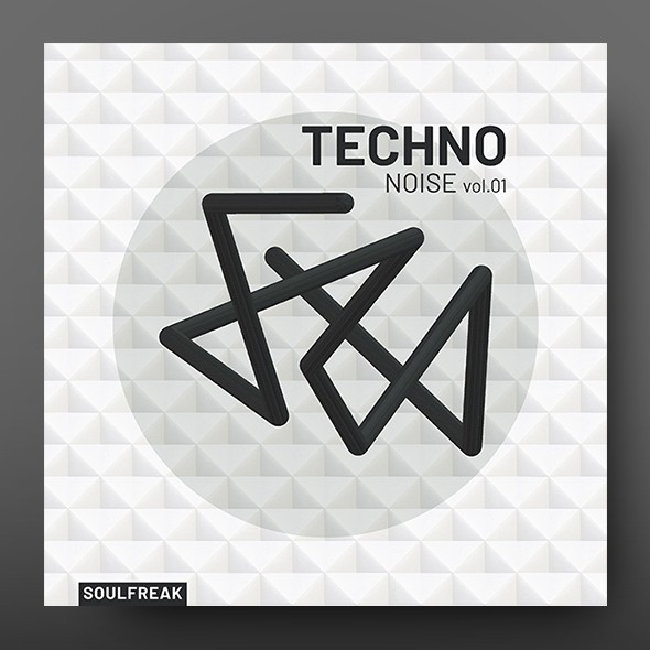 Techno Noise vol.1 – Music Album Cover Template