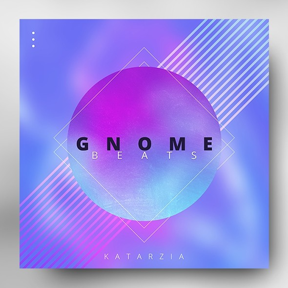 Gnome Beats – Electronic Music Album Cover Template