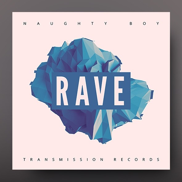 Rave – Music Album Cover Artwork Template