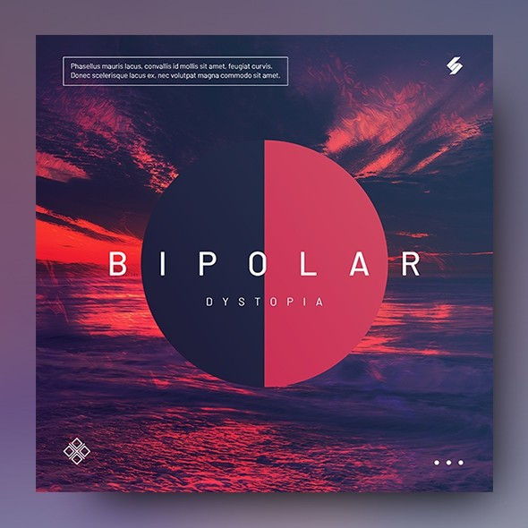 Bipolar – Music Album Cover Artwork Template