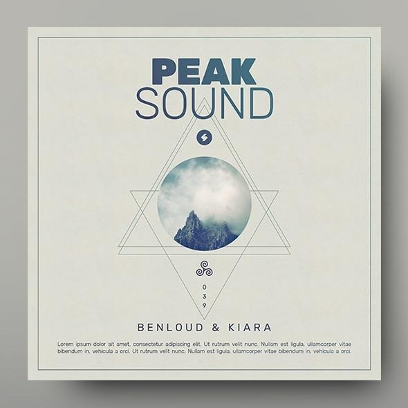 Peak Sound - Music Album Cover Artwork Template