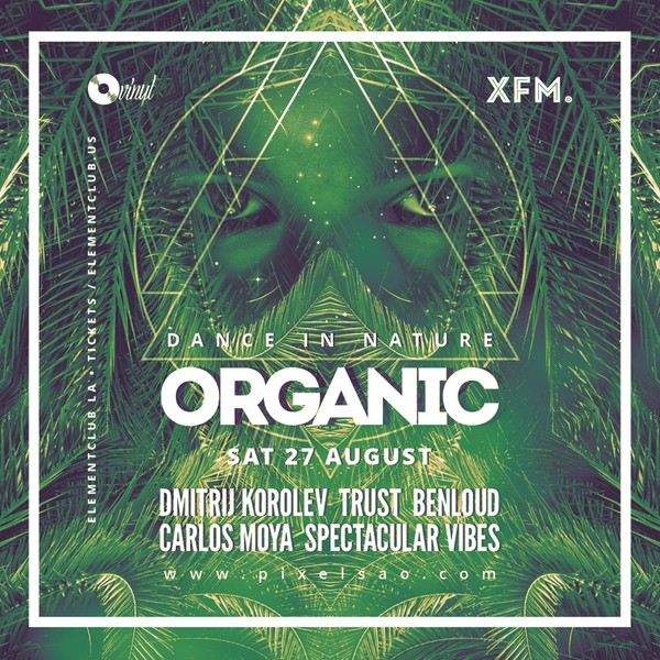 Organic - Psytrance Party Flyer / Poster Template