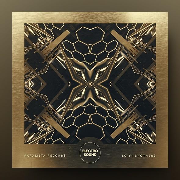 Electro Sound – Music Album Cover Design Template