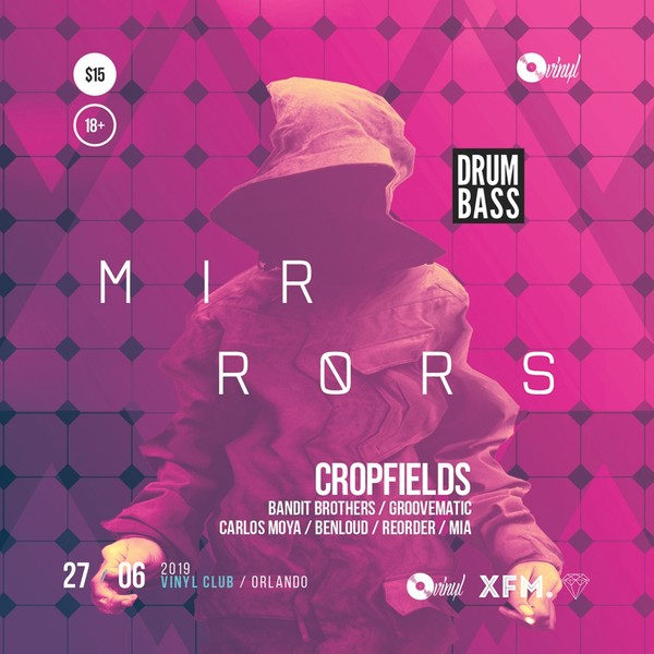Mirrors - Progressive Party Flyer / Poster Template