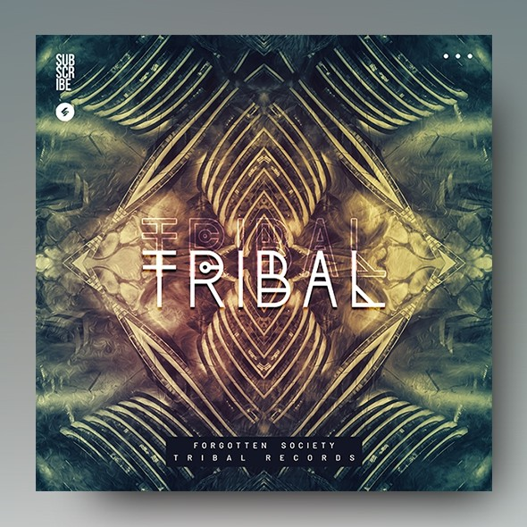 Tribal – Music Album Cover Artwork Template
