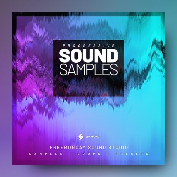 Progressive Sound Samples - Album Cover Artwork Template